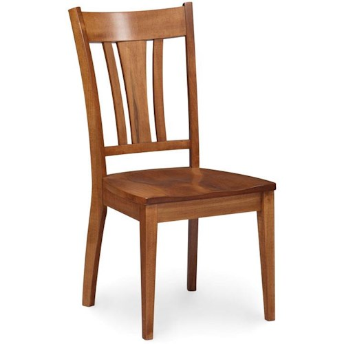 Simply Amish Express Sheffield Dining Side Chair
