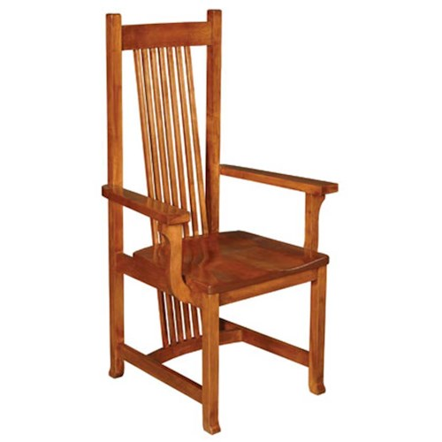 Simply Amish Shaker Amish Shaker Hill Arm Chair Becker Furniture World Dining Arm Chair Twin