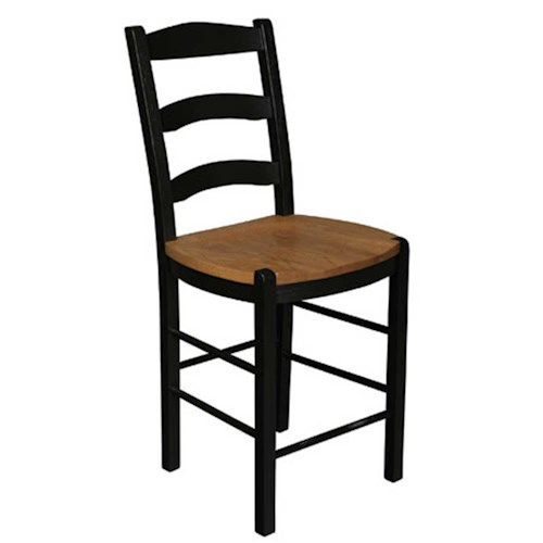 Simply Amish Shaker Amish Shaker 5-Slot Breakfast Stool