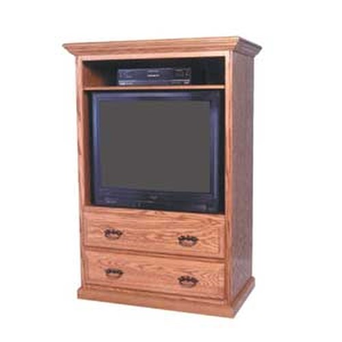 Simply Amish Classic Classic TV Cabinet