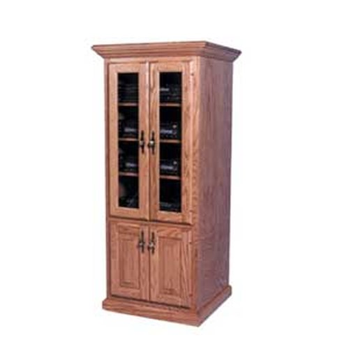 Simply Amish Classic Classic Component Cabinet