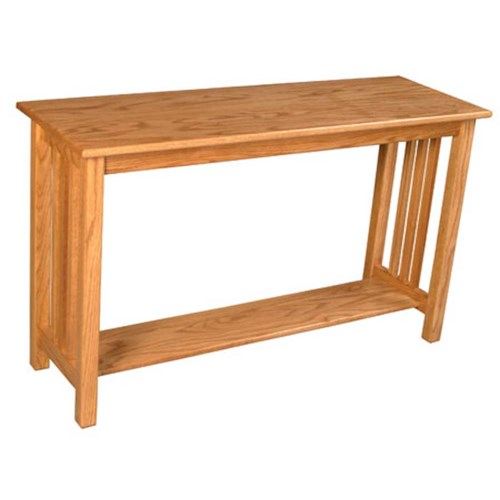 Simply Amish Mission Amish Mission Sofa Table