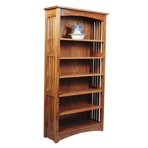 Simply Amish Mission Amish Mission Bookcase