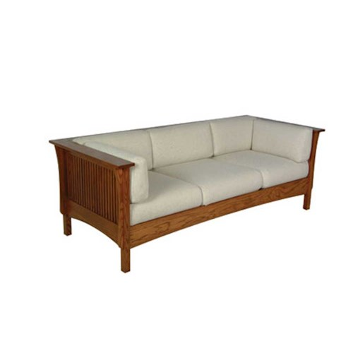Simply Amish Prairie Mission Prairie Mission Sofa with Spindles