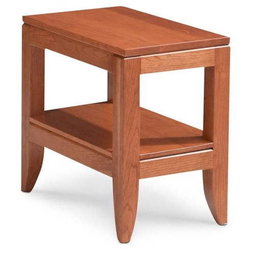 Simply Amish Justine End Table w/ Shelf