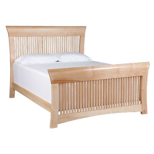 Simply Amish Loft Twin Spindle Bed