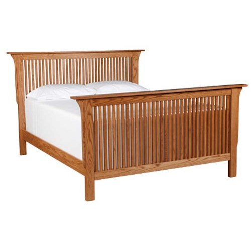Simply Amish Prairie Mission California King Prairie Mission Bed