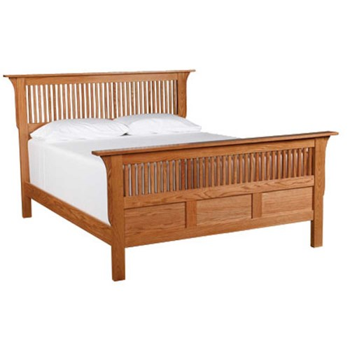 Simply Amish Prairie Mission King Panel Bed