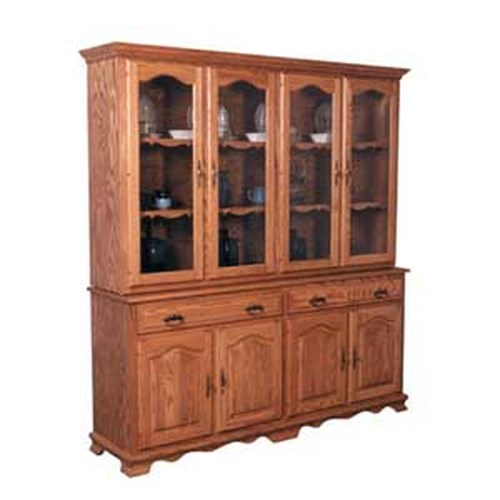 Simply Amish Classic 4 Door Closed China Hutch