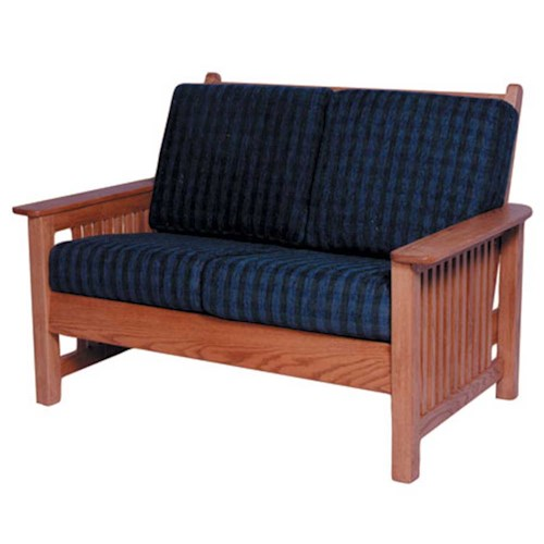Simply Amish Mission Amish Mission Loveseat