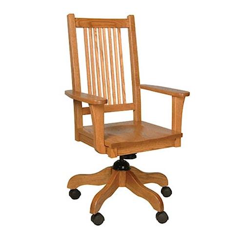 Simply Amish Prairie Mission Prairie Mission Desk Chair