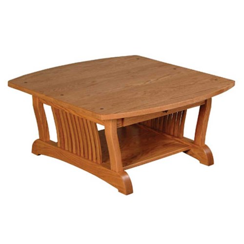 Simply Amish Royal Mission Royal Mission Square Coffee Table