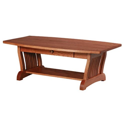 Simply Amish Royal Mission Royal Mission 1-Drawer Coffee Table