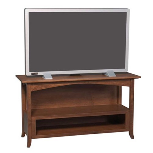 Simply Amish Shaker Amish Shaker Hill Small TV Stand
