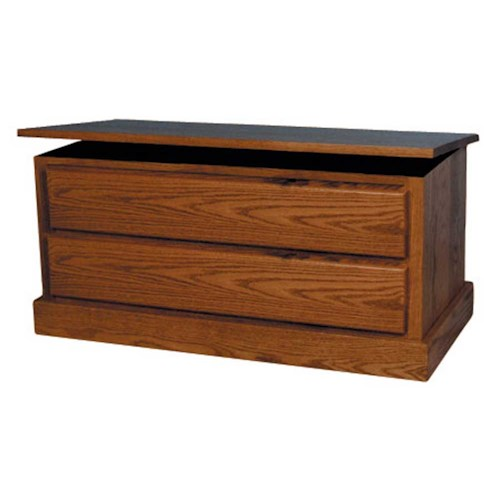 Simply Amish Mission Amish Mission Blanket Chest with False Fronts
