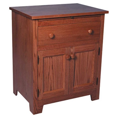Simply Amish Shaker Amish Shaker Deluxe Nightstand