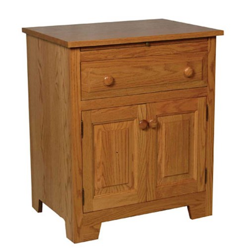 Simply Amish Homestead Amish Homestead Deluxe Nightstand