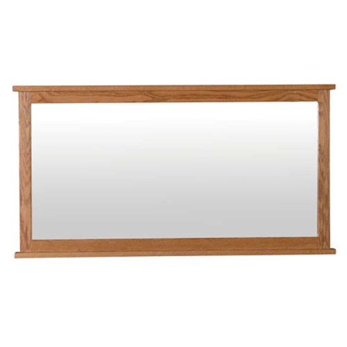 Simply Amish Shaker Amish Shaker Bureau Mirror