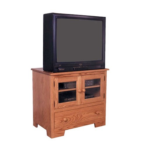 Simply Amish Shaker Amish Shaker TV Stand