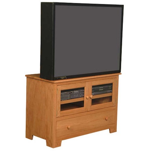 Simply Amish Shaker Amish Shaker Widescreen TV Stand