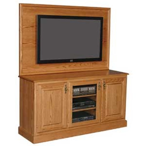 Simply Amish Classic Plasma Back TV Stand