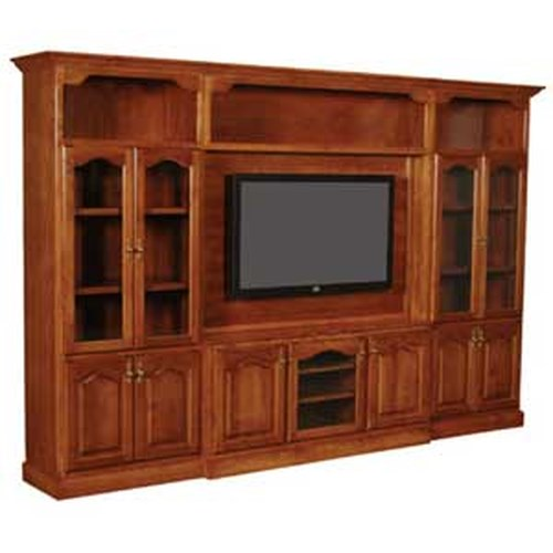 Simply Amish Classic Classic Entertainment Wall Unit