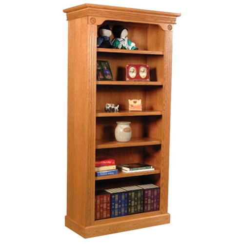 Simply Amish Imperial Amish Imperial Open Bookcase