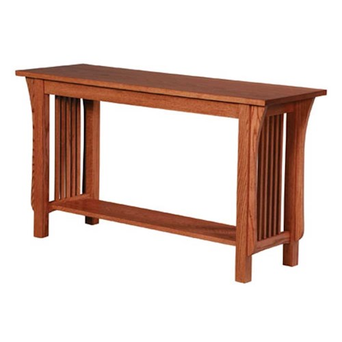 Simply Amish Prairie Mission Prairie Mission Sofa Table