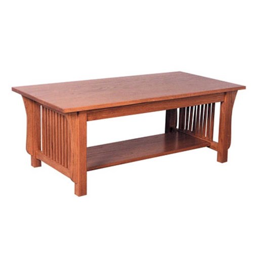 Simply Amish Prairie Mission Prairie Mission Coffee Table