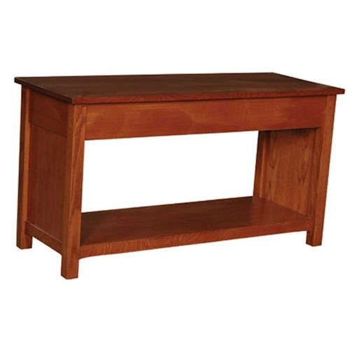 Simply Amish Prairie Mission Prairie Mission Bench