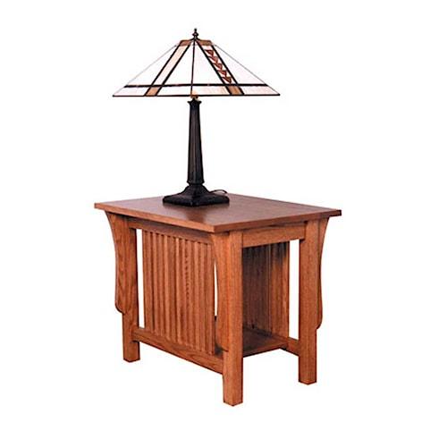 Simply Amish Prairie Mission Prairie Mission End Table
