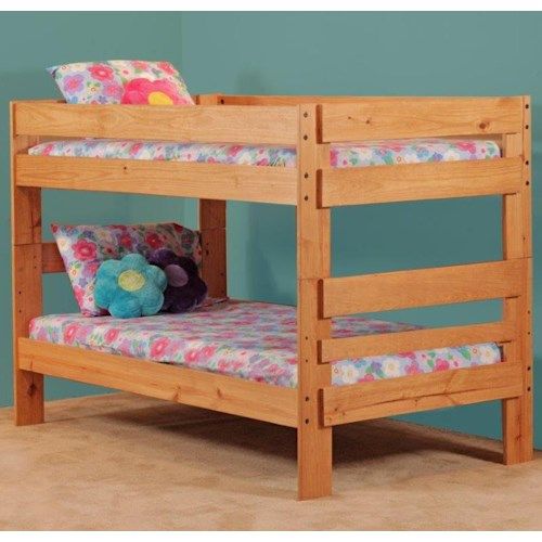Simply Bunk Beds 702 Twin over Twin Bunk Bed