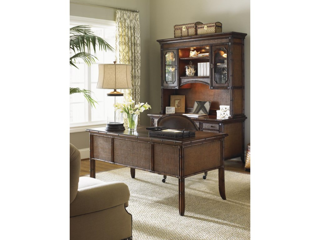 Shown with Isle of Palms Credenza and Deck and Rum Runner Game/Desk Chair