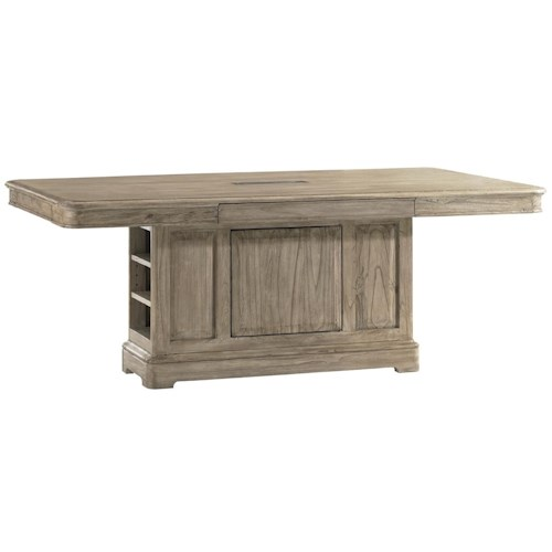 Sligh Barton Creek Westlake Dining Table with Power Module