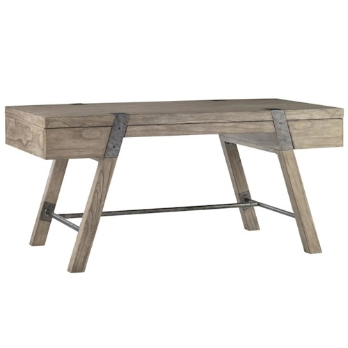 Sligh Barton Creek Wyatt Desk with Metal Accents