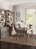Shown with Fischer Desk Chair and Johnson File Chests with Decks