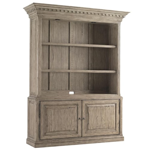 Sligh Barton Creek Mt. Bonnell Bookcase with Two Doors