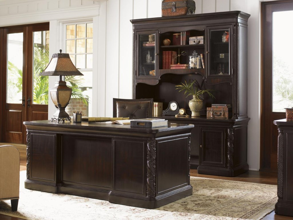 Shown with Aylesbury Pedestal Desk and Callahan Executive Desk Chair