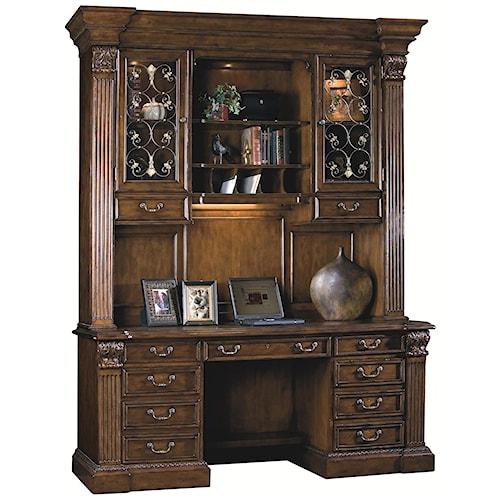 Sligh Laredo Credenza Desk with Deck