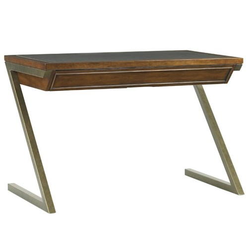 Sligh Longboat Key Harborview Desk with Metal Legs
