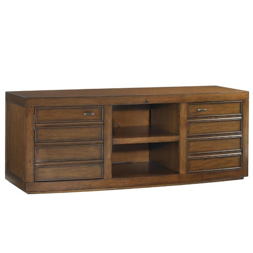 Sligh Longboat Key Plantation Bay TV Console with Two Doors