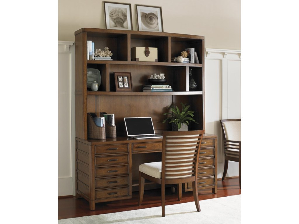 Shown with Key Biscayne Credenza & Deck and Kowloon Arm Chair