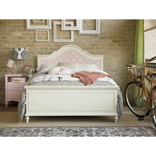 Universal Kids Smartstuff Bellamy Full Trellis Bed Bedroom Group