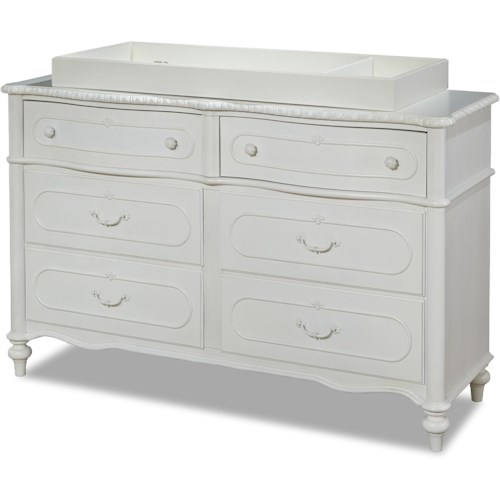 Smartstuff Bellamy 6-Drawer Dresser with Changing Station