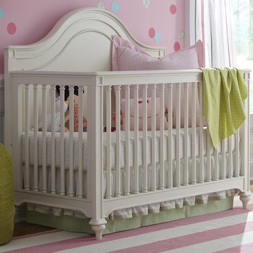 Morris Home Furnishings Bellamy Convertible Crib with Turned Slats