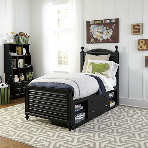 Morris Home Furnishings Anaheim Twin Bedroom Group