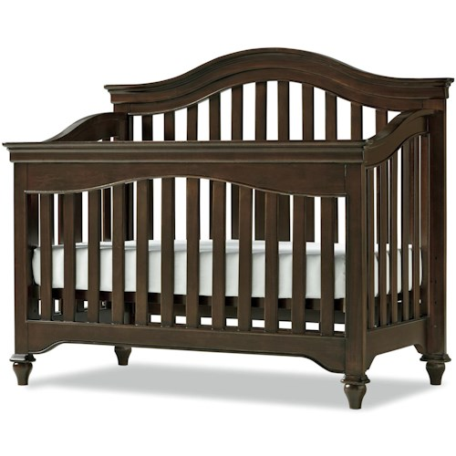Morris Home Furnishings Classics 4.0 Convertible Crib to Low Profile Full Bed