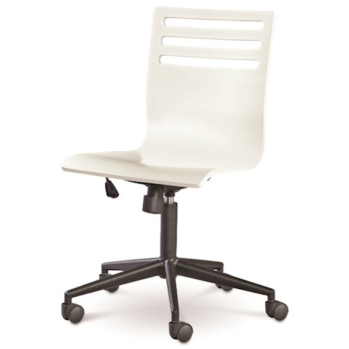 Smartstuff Classics 4.0 Swivel Desk Chair with Tilt Function