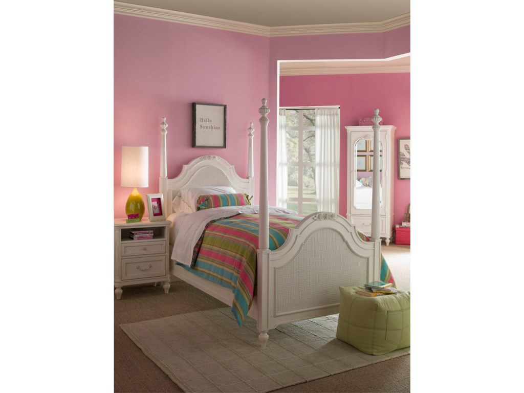 Shown with Nightstand and Poster Bed