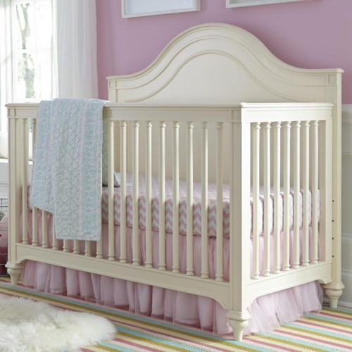 Smartstuff Gabriella Convertible Crib with Tapered Bun Feet